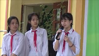 Ngoại khóa tiếng Anh trường THCS Lê Thanh Nghị - Gia  Lộc - Hải Dương