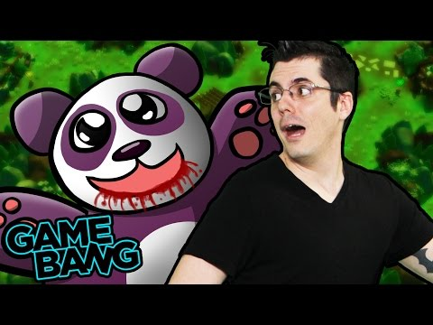KILLER PANDAS EAT US! (Game Bang)