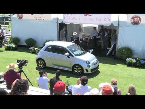 Fiat 500T Public Unveiling