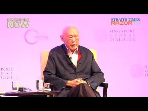Singapore & Malaysia Not Likely To Merge: Lee Kuan Yew video