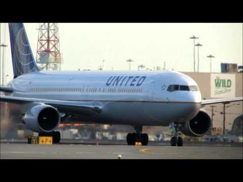 United Airlines Boeing 767-300ER Landing at Newark Liberty International Airport [KEWR/EWR]