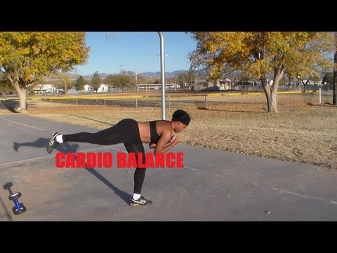 Cardio Workout-Cardio Balance Workout :December's Fitness Meal and Exercise Plans