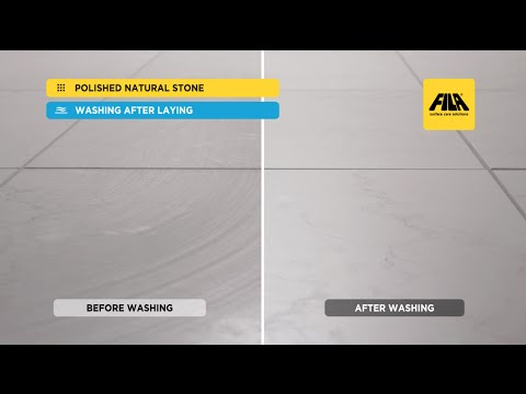 Polished Marble - Polished Stone: how to Clean and Seal with FILAMP90 (en)