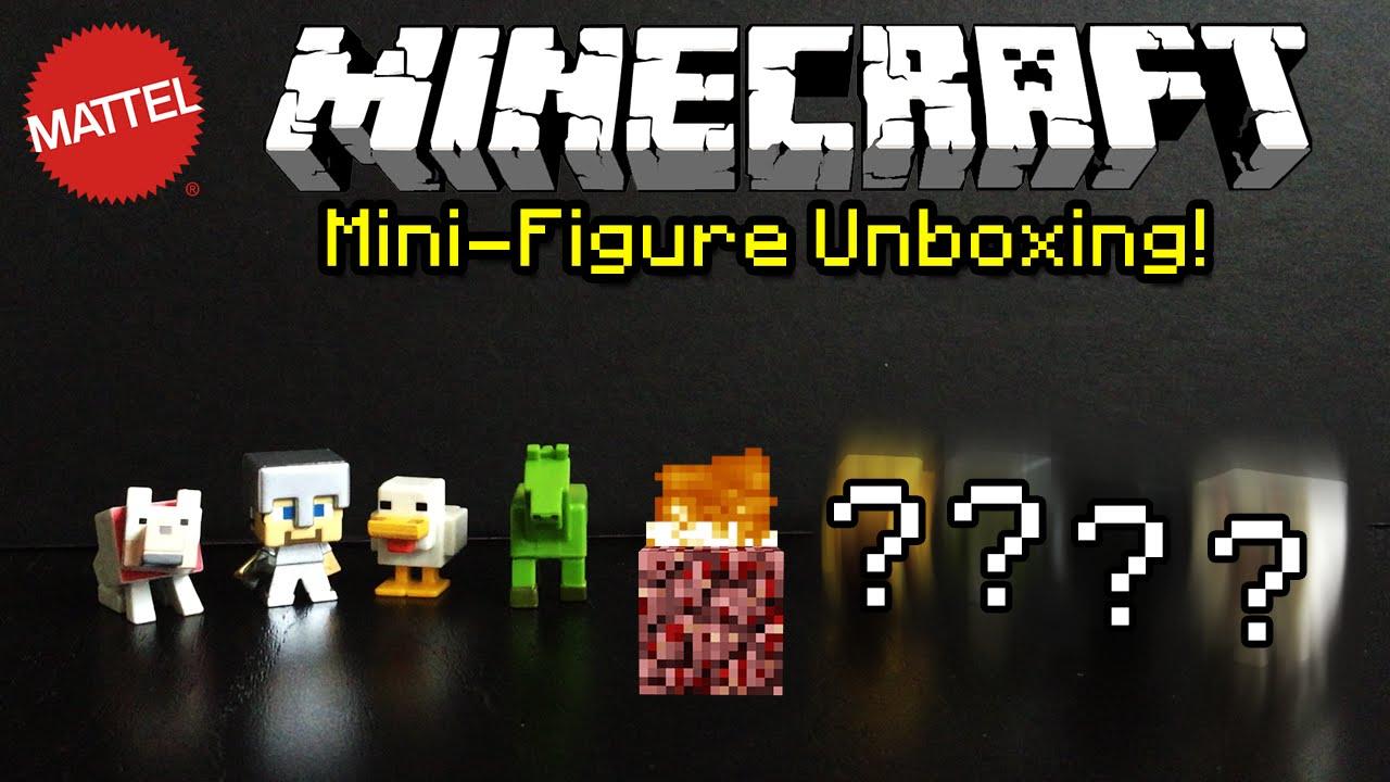 Minecraft Mattel Mini-figures