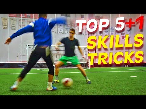 Top 5+1 Amazing Football Skills To Learn Tutorial Thursday Vol.33 video