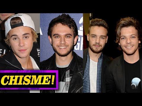 Justin Bieber Y Conejita Playboy? 1D Roban Música a Zedd, Ariana Grande Labios Inyectados!?