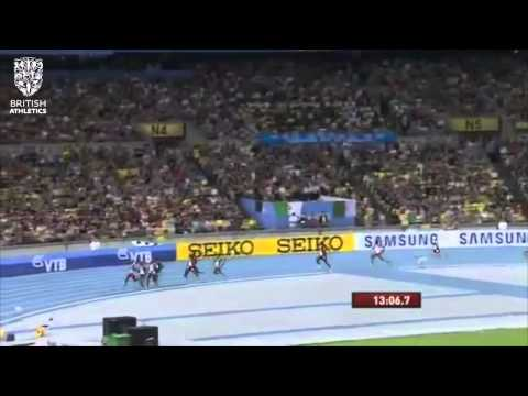#TBT: Mo Farah takes first world title over 5,000m in 2011