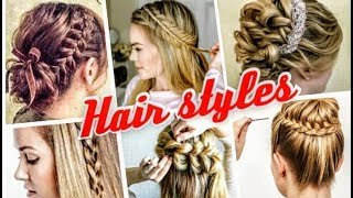 33 Easy hair styles/Beautiful long and short hair styles