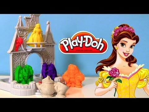 Disney Princess Play Doh Castle Play Doh Disney Princess Belle