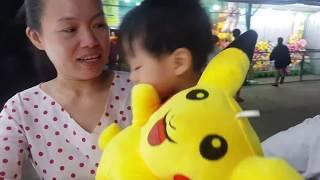 Bé Tin Và Anh Hai Đi Chơi Hội Chợ ♥️ Thảy Banh, Phóng Phi Tiêu ♥️ Kids Toy Media ♥️