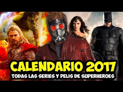 Calendario 2017 TODAS las series y pelis de Superhéroes   Strip Marvel