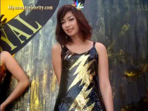 Myanmar Sexy Model Girls' Dancing, Yangon video