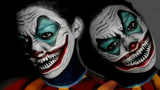 Scary Smiling Clown Makeup
