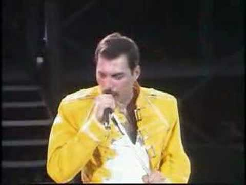 Freddie Mercury vs. Crowd Video