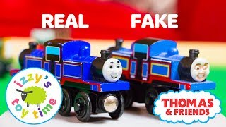 REAL OR FAKE?! Thomas and Friends | Thomas Train Knockoffs! Fun Toy Trains for Kids