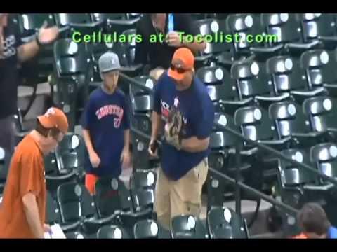 Dad drops ball, kid gets upset and starts beating his dad- bad kid