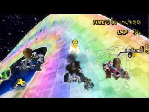 Mario Kart Wii - - Online Races 100: A Crazy Compilation, Pt. 1