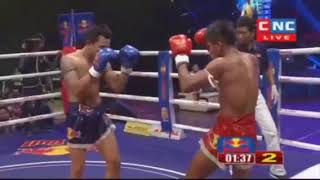 មឿន សុខហ៊ុច vs ម៉ាណាវថង | CNC boxing Marathon 24-03-2018