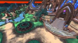 World Of Warcraft 3.3.5a - Draenor Map Tour - WIP