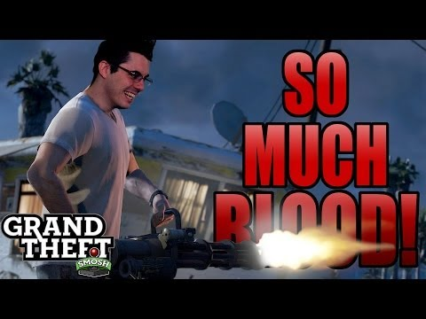 MINIGUN MURDER SPREE (Grand Theft Smosh)