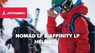 ATOMIC NOMAD LF & AFFINITY LF HELMETS 2015