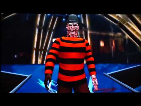 WWE `12 Freddy Krueger Entrance