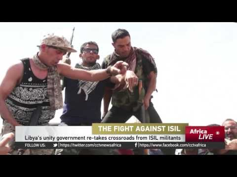 Libya unity government retakes crossroads from ISIL militants