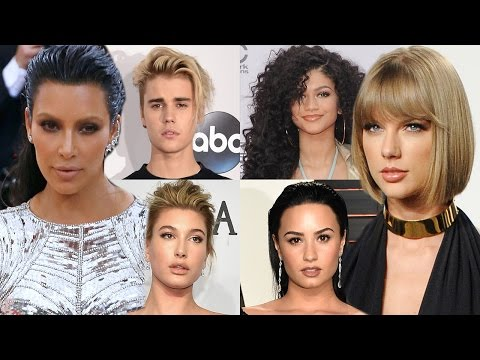 Demi Lovato, Zendaya, Selena Gomez & MORE Celebs Take Sides In Taylor Vs. Kim Feud