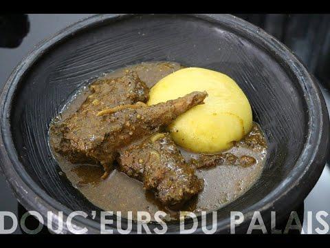 "Recette spéciale ""Paquinou"" : Sauce djoumgblé"