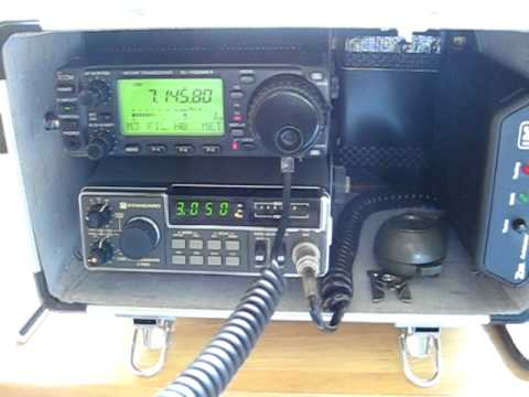 Icom IC 706 portable station