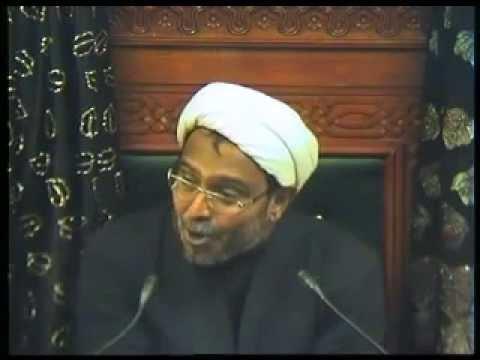 Eve 12th Muharram 1436 - Ziyarat Majlis - Maulana Wasi Hassan Khan (urdu) video