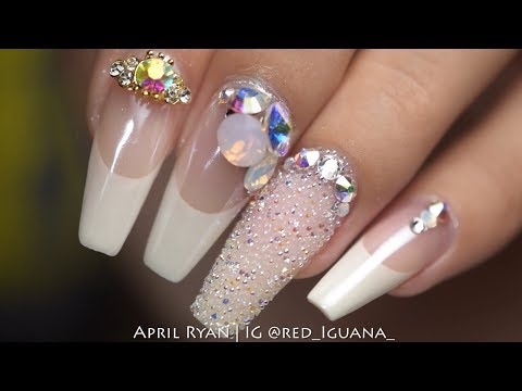 Wedding Nails with Daily Charme Decorations | April Ryan | Red Iguana