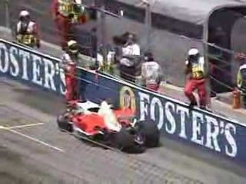 Ralf Schumacher kicks Toyota F1 at 2005 USGP
