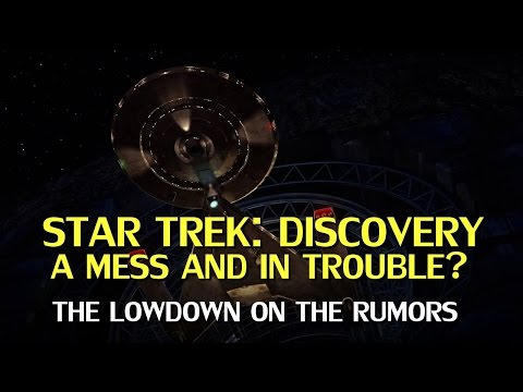 Star Trek Discovery in Trouble? Rumor Rundown