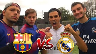FC BARCELONA vs REAL MADRID FUßBALL CHALLENGE | BROTATOS