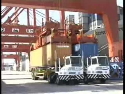 Twin 40Ft Container Handling Gantry Crane