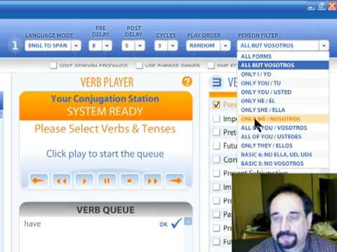How to Learn Spanish Verbs with the Verbarrator