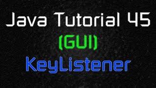 Java Tutorial 45 (GUI) - Moving Object with Keyboard Inputs (KeyListener)