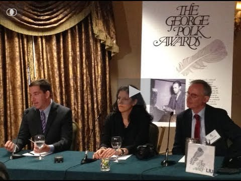 Glenn Greenwald & Laura Poitras Q&A on Snowden, Surveillance State & Press Freedom