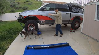 Heavy Duty Tom Wood's Driveshaft UPGRADE for the Ram 1500 Hemi 4x4