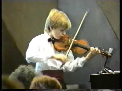 Johnny Gandelsman plays Bartok Rhapsody no1