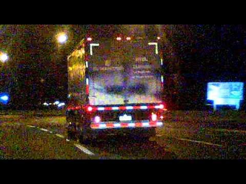 Camion corre a 160 km h en autopista central
