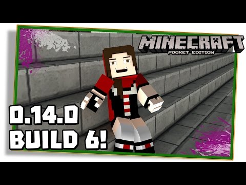 NOVIDADES DO MINECRAFT PE 0.14.0 BUILD 6 (beta)! - (Pocket Edition / MCPE)