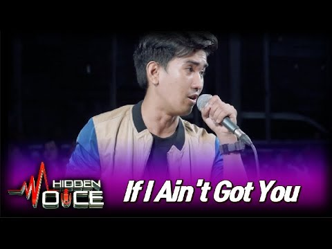 [Hidden Voice] - If I Ain't Got You COVER ♬The Voice of Vibe and Soul! ♬ in Lower Bicutan Taguig