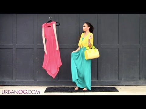 How to Wear a Maxi Dress &amp; Maxi Skirt!  How to Style a Maxi Skirt &amp; Dress 5 Outfits