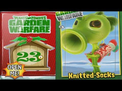 Plants Vs. Zombies: Garden Warfare - Knitted Socks Unlocked Joyous Holiday Pack