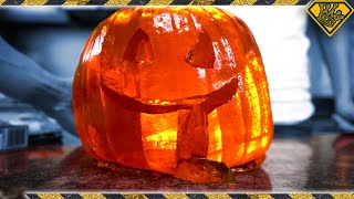 Giant Gummy Pumpkin: Can You Eat it All at Once?