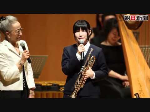 東日本大震災 天国の母へ涙のトランペット