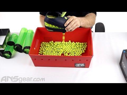 Dye Rotor R2 Paintball Loader - Reball Test