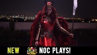 NOC Plays Aylna Cosplay!